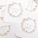 baby milestone card sets  leaf wreath motif leaf wreath motif