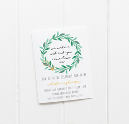 You Came True Baby Shower Invitations