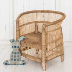 childrens mini furniture rattan chair malawi chair