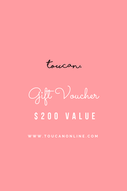 200 gift voucher card present