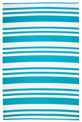 Aqua Stripe Kid's Mat
