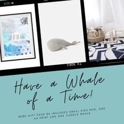 Bebe Gift Pack - Whale