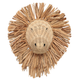 Rattan Wall Lion
