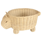 Rattan Wombat Basket