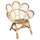 Rattan Kids Flower Chair