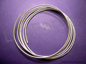 "12 gauge 9999 Pure Silver Wire 60"" Length"