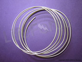 "12 gauge 9999 Pure Silver Wire 72"" Length"
