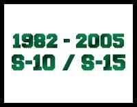 1982-2005 S10 S15 2WD Lift Kits