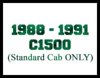 1988-1991 C1500 Standard Cab Drop Kits