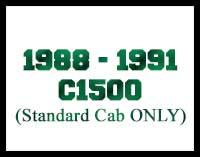 1988-1991 C1500 Standard Cab Lift Kits