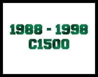1988 - 1998 C1500 Drop Kits