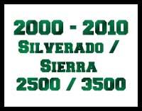 2000-2010 Chevy GMC 2500 / 3500 Trucks