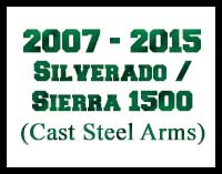 2007 - 2015 Silverado Sierra 1500 2WD Lift Kits