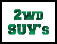 2WD SUV's