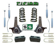 "02 - 08 Dodge Ram 1500 2WD 7"" Front 4"" Rear Spindle COIL Lift Kit w SHOCKS V8"
