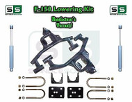 "04 -08 Ford F-150 F150 3"" / 6"" Drop Lowering Kit Control Arms + SHOCKS"