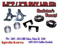 "07 - 13 GMC Yukon / XL 1500 Cadillac Escalade 5.5"" / 2"" Lift Kit Spindle Spacer"