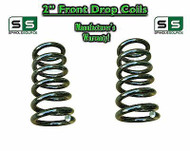 "1965-1987 Chevrolet GMC C10 C15 2"" Lowering Drop Coils Springs 65-87 73-87 65-72"
