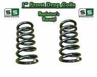 "1965-1987 Chevrolet GMC C10 C15 1"" Lowering Drop Coils Springs 65-87 73-87 65-72"