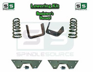 "1973 - 1987 Chevrolet Chevy GMC C10 C15 3"" Coils + 5"" Flip kit 3""/5"" + NOTCH"