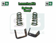 "1973 - 1987 Chevrolet Chevy GMC C10 C15 3"" Coils + 5"" Flip kit 3""/5"" 73-87 Drop"