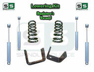 "1973 - 1987 Chevrolet Chevy GMC C10 C15 2"" / 5"" Lowering Drop Kit 2/5 + Shocks"