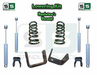 "1973 - 1987 Chevrolet Chevy GMC C10 C15 3"" / 4"" Lowering Drop Kit 3/4 + SHOCKS"