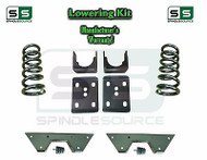 "1973 - 1987 Chevrolet Chevy GMC C10 C15 3"" Coils + 6"" Flip kit 3""/6"" + NOTCH"