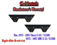 1973 - 1987 Chevrolet Chevy GMC C10 C15 C1500 73-87 C-Notch for Drop KITs