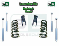 "1973 - 1987 Chevrolet Chevy GMC C10 C15 C1500 2"" / 2"" Lowering Drop Kit + SHOCKS"