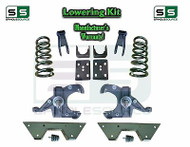 "1973 - 1987 Chevy GMC C10 C15 5"" / 7"" - 8"" Lowering Drop Kit 1.0"" Rotor + NOTCH"
