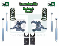"1973 - 87 Chevrolet GMC C10 C15 4"" / 6"" Lowering Drop Kit 1.25"" Rotors + SHOCKS"
