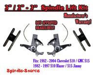 "1982 -05 Chevrolet S-10 S10 GMC S-15 Sonoma Blazer 3"" / 2-3"" Lift Kit Brakelines"
