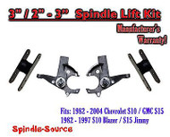 "1982 -05 Chevrolet S-10 S10 / GMC S-15 Sonoma Blazer Jimmy 3"" / 2-3"" Lift Kit"