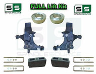 "1988 - 1991 Chevrolet / GMC C15 C1500 STANDARD CAB 6"" / 3"" Spindle Lift Kit"