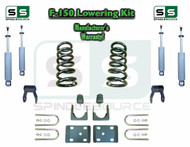 "1997 - 03 Ford F-150 F150 V6 EXT Cab 2WD 3"" / 5"" Drop Lowering Kit Coils SHOCKS"