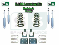 "1997 - 03 Ford F-150 F150 V6 EXT Cab 2WD 3"" / 6"" Drop Lowering Kit Coils SHOCKS"