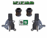 """1997 - 2002 Ford Expedition 2WD 3.5"""" / 2"""" inch Spindle Fab Spacer LIFT KIT"""