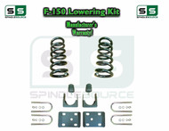"1997 - 2003 Ford F-150 F150 V8 Ext Cab 2WD 3"" / 6"" Drop Lowering Kit Coils"