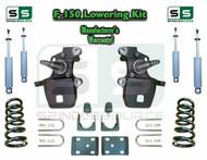 "1997 - 2003 Ford F-150 F150 V8 2WD 3"" / 6"" Drop Lowering Kit Coils Flip + SHOCKS"