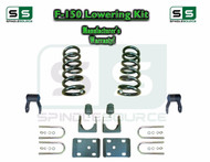 "1997 - 2003 Ford F-150 F150 V8 EXT Cab 2WD 3"" / 5"" Drop Lowering Kit Coils"