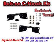 1999 - 00 Chevy Silverado GMC Sierra C-NOTCH for use with flip lowering drop kit
