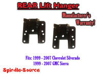 "1999 - 2006 Chevrolet Silverado / GMC Sierra 1500 1"" or 2"" REAR Lift Hangers"