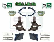 "1999 - 2007 Chevrolet Silverado Sierra 1500 Spindle Lift Kit 7"" / 4"" Off + UCA"