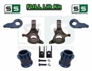 "2000 - 2006 Chevrolet GMC SUV Yukon Suburban 5"" / 3"" Lift Kit Spindle + EXTENDER"
