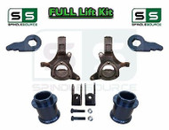 "2000 - 2006 Chevy GMC SUV Tahoe Yukon Suburban 1500 5"" / 1"" Spindle Lift Kit EXT"