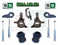 "2000 - 2006 Chevy GMC SUV Tahoe Yukon 5-7"" / 3"" Lift Kit Spindle SHOCKS TOOL"