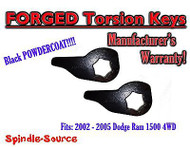 "2002 - 2005 Dodge RAM 1500 4x4 4WD 1"" - 3"" Torsion Lift / Leveling Keys 02 03 04"