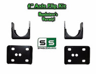 "2002 - 2008 Dodge Ram 1500 6"" REAR Axle Lowering Flip Kit 2WD 4WD Truck 02-08"