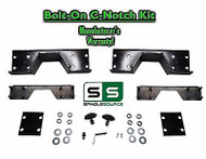 2002 - 2008 Dodge Ram 1500 Bolt-on HEAVY DUTY Rear frame C-Notch Kit 02-08